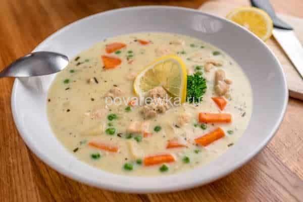 рецепт куриного супа с вермишелью