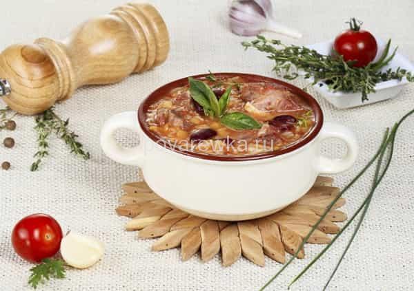 рецепт супа харчо по-грузински