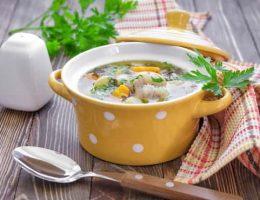 рецепт горохового супа с курицей