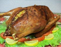 рецепт гуся в духовке