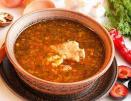 рецепт супа харчо с курицей
