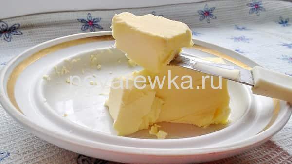 Гречка с маслом