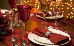 Новогоднее меню на праздничный стол