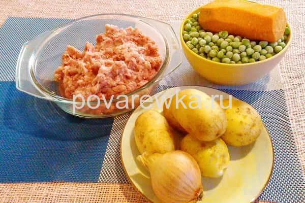 Суп с фрикадельками и вермишелью ингредиенты