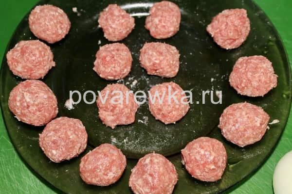 Фрикадельки мясные