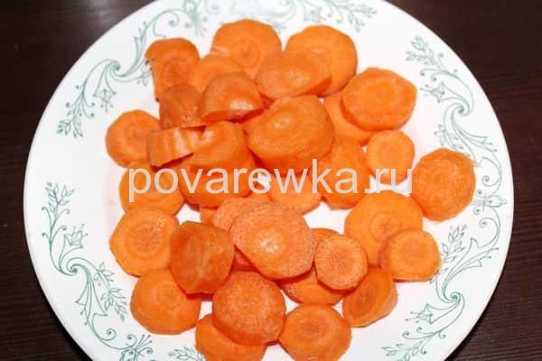 Суп с фрикадельками и морковью