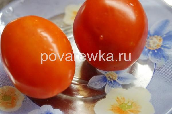 Индейка с помидорами в духовке