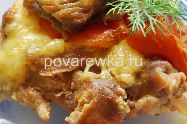 Горячие мясные блюда на Новый год