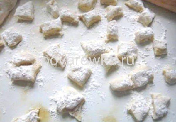 Рецепт ленивых вареников из картошки