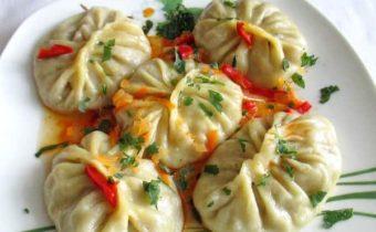 Манты: рецепт приготовления с картошкой, тыквой и куриной печенью