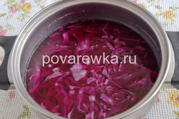 Как покрасить яйца на Пасху краснокочанной капустой