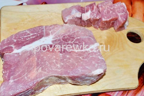 Мясо для шашлыка из свинины