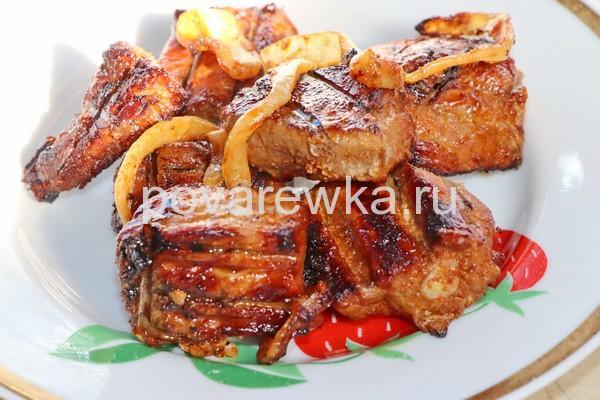 Шашлык из свинины мягкий и сочный
