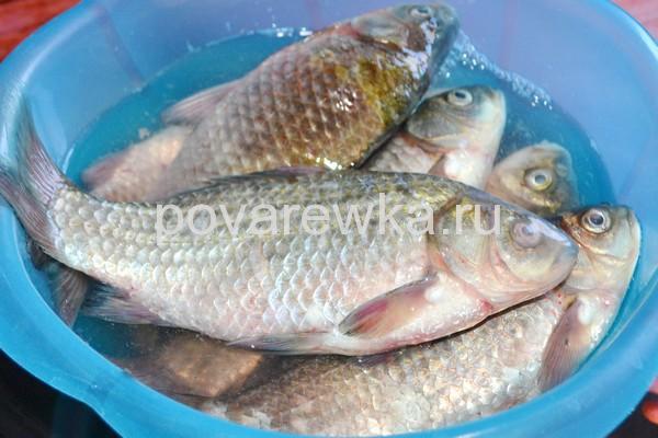 Жареная рыбы