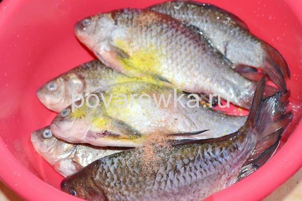 Рыба в специях