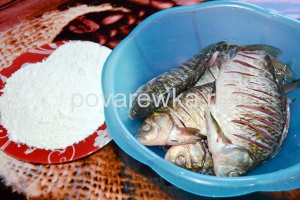 Рыба в кляре из муки