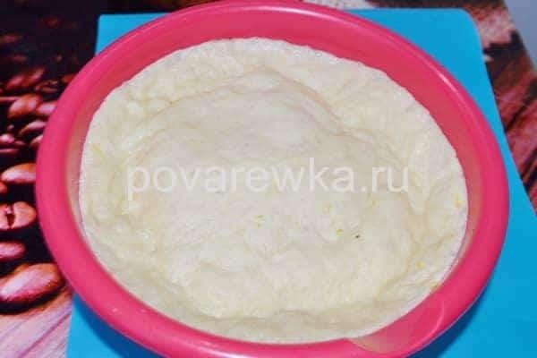 Эластичное тесто для слоеного пасхального кулича