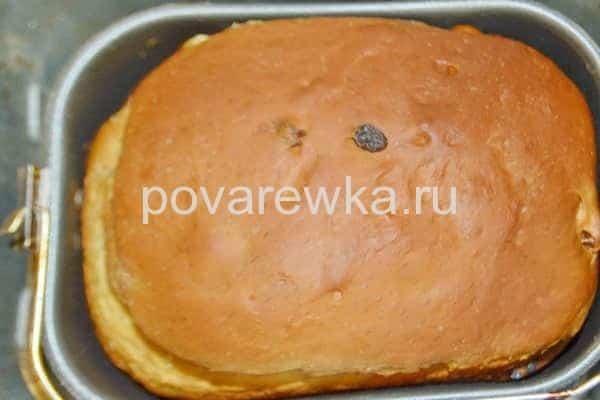 Пасхальный кулич в хлебопечке вкусный