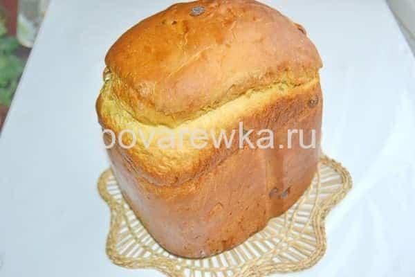 Пасхальный кулич в хлебопечке с аппетитной корочкой