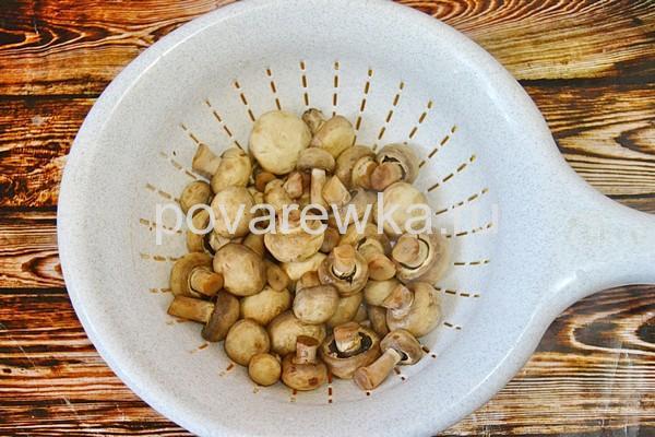 Маринованные грибы быстрые
