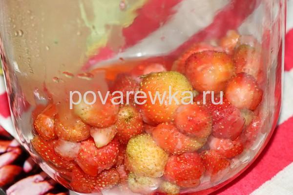 Целые ягодв клубники