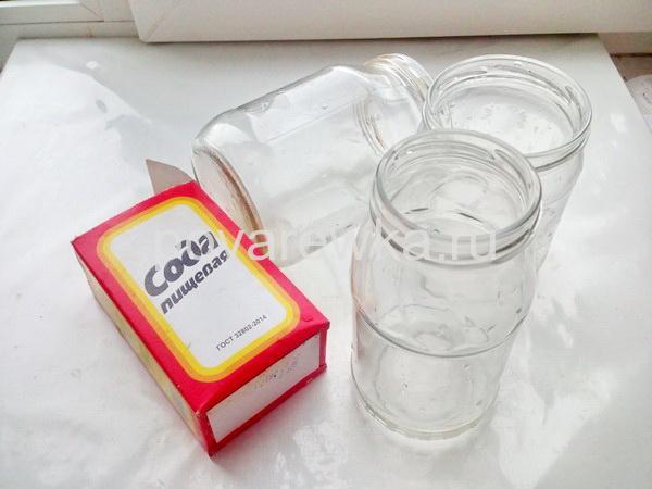 Стерилизация банок с содой
