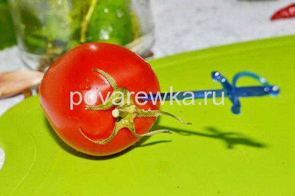 Ассорти с целыми помидорами на зиму
