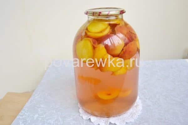 Пермиковый компот на зиму с лимонной кислотой