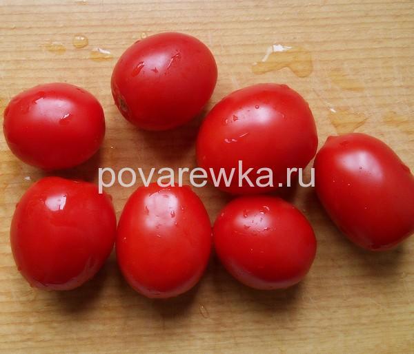Спелые помидоры маринованные на зиму