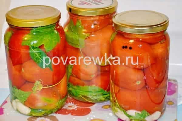 Маринованные помидоры: рецепт на зиму в банках с перцем