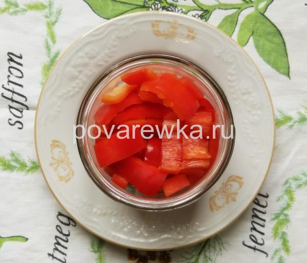 Маринованный перец в томате на зиму