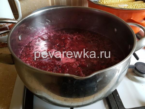 Малиновое варенье рецепт с фото