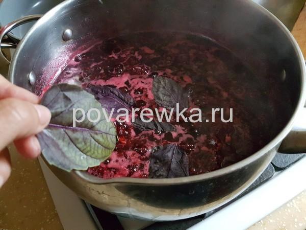 Малиновое варенье на зиму с базиликом: пошаговый рецепт с фото