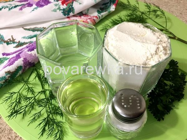 Чебуреки домашние ингредиенты