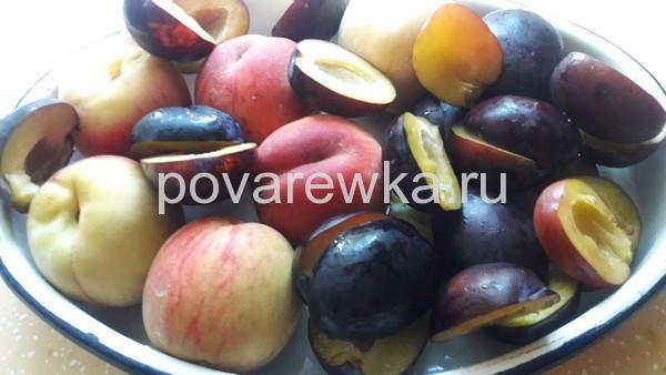 Сливы и персики для комп