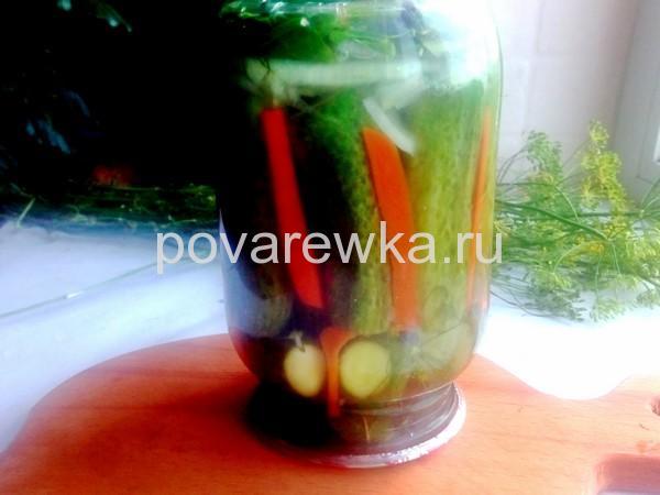 Огурцы по-болгарски на зиму