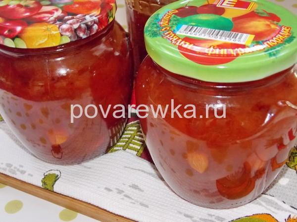 Варенье из абрикосов на зиму с ядрышками густое
