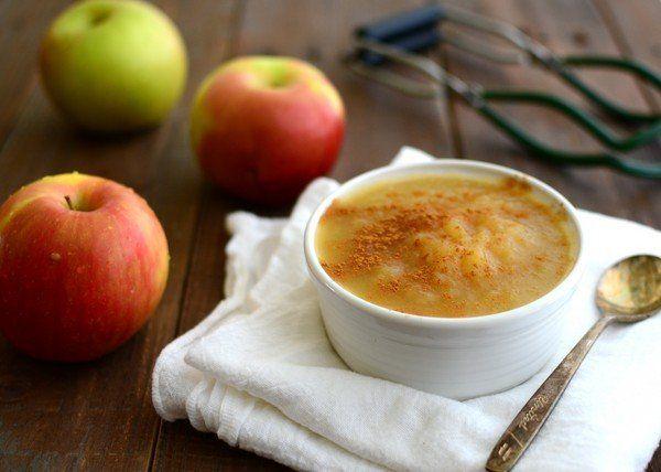 Яблочное пюре на зиму простое