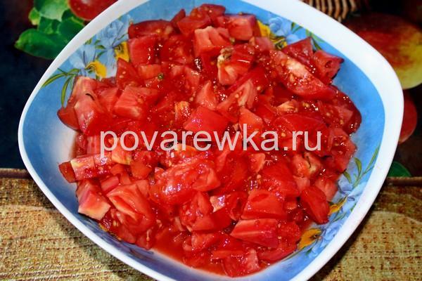 Икра из баклажан на зиму с томатом