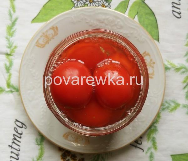 Маринад для маринованных помидор с перцем