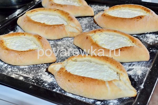Хачапури по аджарски в духовке