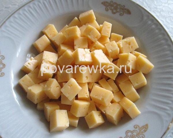 Сыр для салата с курицей на Новый год 2019
