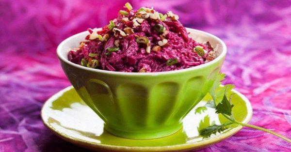 Салат винегрет с цветной капустой