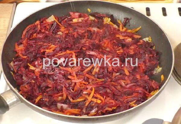 Борщ: рецепт классический с мясом, зажарка для борща со свеклой