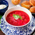 Борщ: рецепт классический с мясом, пошагово с фото