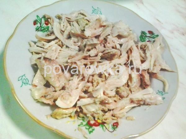 Холодец из курицы с желатином: мясо куриное