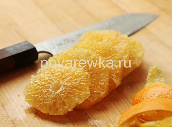 Гусь в духовке в рукаве в домашних условиях с апельсинами