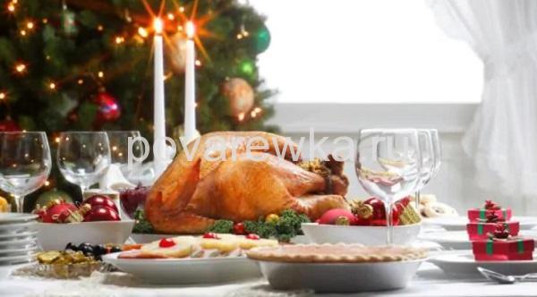 Как подать на стол рождественского гуся