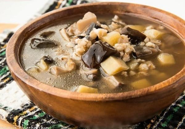Грибной суп из шампиньонов: пошаговый рецепт с сырком плавленым