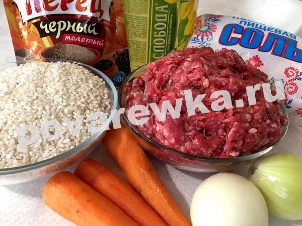 Блинчики с мясом и рисом: рецепт самый вкусный